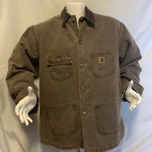 Carhartt-Mens-Jacket-Size-XL-Reg-Chocolate-Vintage-late-1970s-10-Out-Of-10