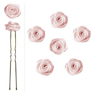 6-epingles-pics-cheveux-chignon-mariage-mariee-danse-fleurs-en-satin-rose-pastel