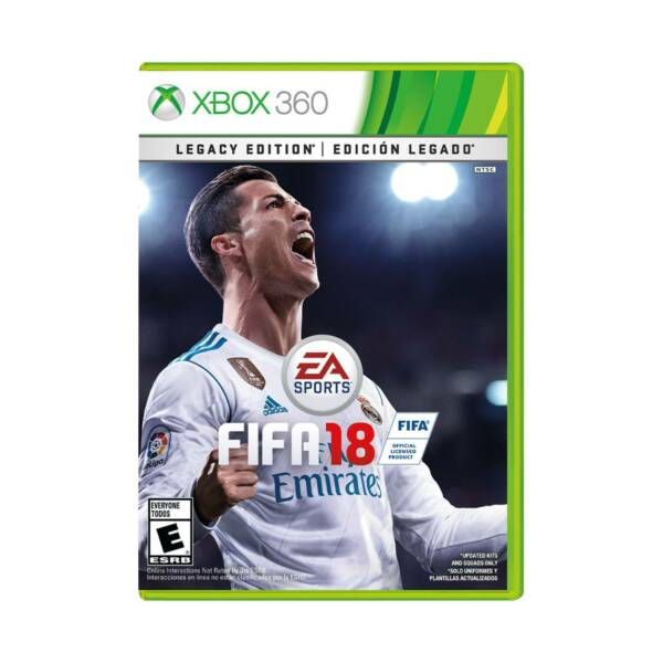 fifa 18 legacy edition microsoft xbox 360 2017 ebay. Black Bedroom Furniture Sets. Home Design Ideas