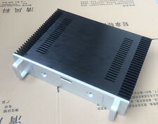 BZ4309 Aluminum power amplifier chassis Class A AMP box two heatsink With handle
