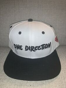 One-Direction-Boy-Band-Music-Group-Red-Diamond-White-Black-Snapback-Baseball-Hat