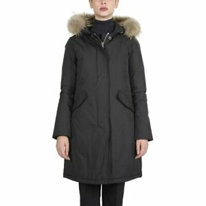 Canadian Classics Damen Fundy Bay Lange Jacke Schwarz Größe Uk 12 R2 Ebay