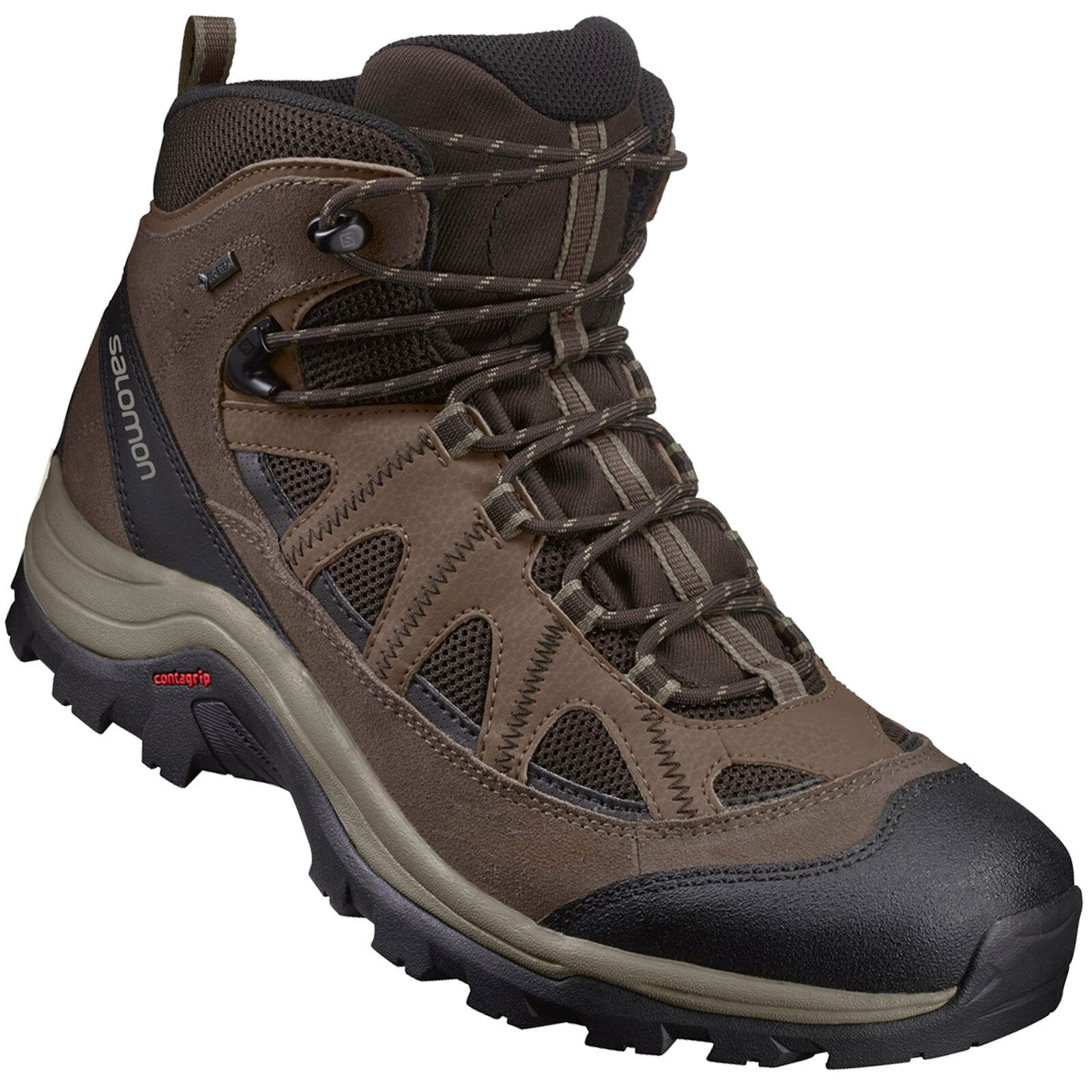 Salomon Authentic Hiking Leder Gore-Tex Herren-Wanderschuhe Outdoor Hiking Authentic Schuhe a1fa28