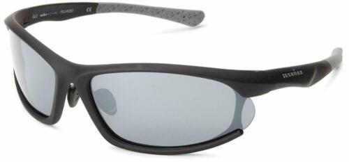 Ironman Commit Polarised Sunglasses,Matte Black//grey Rubberized,159.5 mm