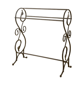 Metal Towel Rack Stand Easy Home Decorating Ideas