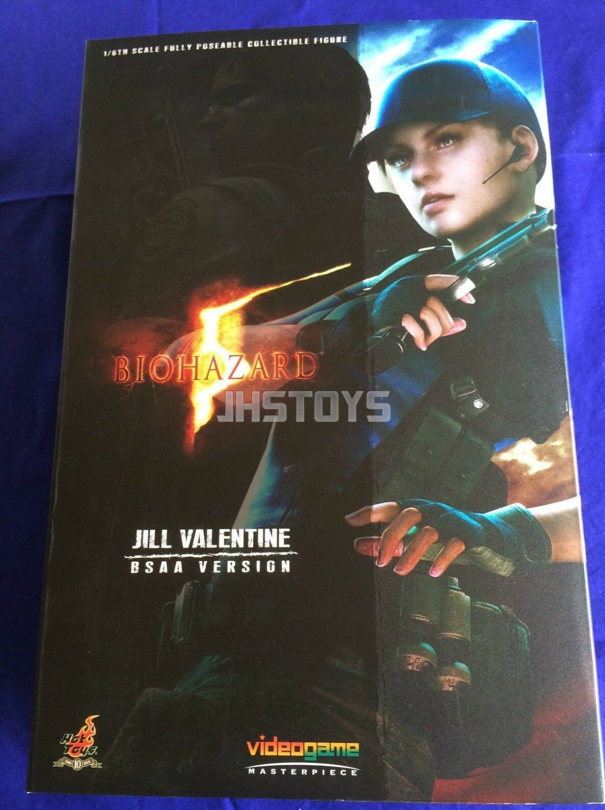Hot Toys 1/6 Resident Evil Biohazard 5 Jill Valentine BSAA Version VGM11 Japan