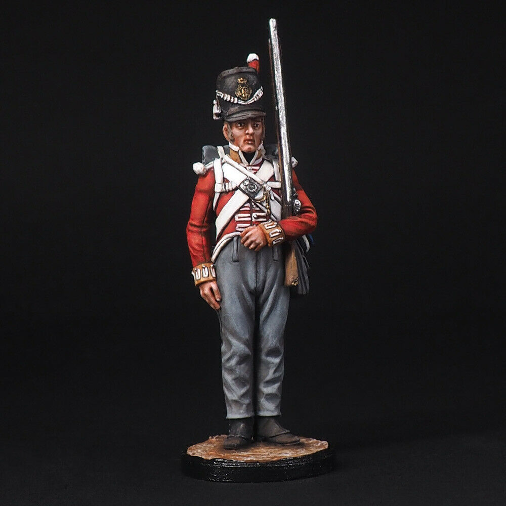 Tin Soldier, A private battalion company of the 44th East Essex Regiment, 54 mm