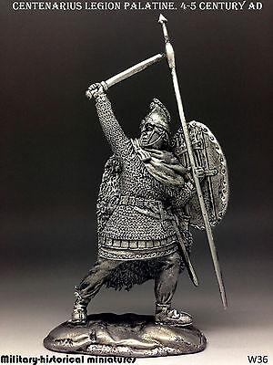 Centenarius Legion Palatine, Tin toy soldier 54 mm, figurine, metal sculpture