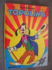 TOPOLINO # 1381 - 16 MAGGIO 1982 - OTTIMO - ORIGINALE