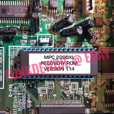EPROM Akai MPC 2000XL Operating System Boot Recovery v1.14