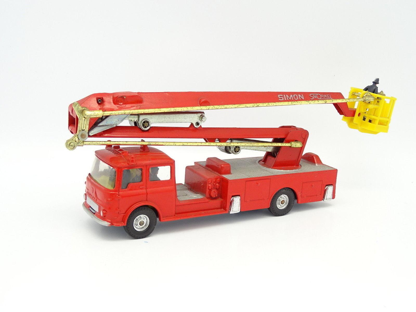 Corgi Toys SB 1 50 - Bedford Simon Snorkel Fire Engine  Pompiers