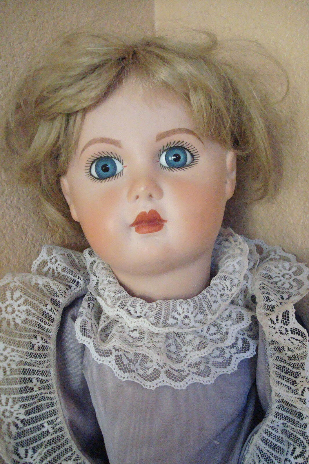 Antique Repro French Depose E14J Jumeau Doll Bisque Head Ball Jointed Body 25 lg
