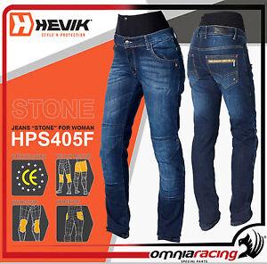 Hevik-Jeans-Stone-HPS405F-Tg-50-Pantalone-Moto-Tecnico-Donna-Denim-Blu
