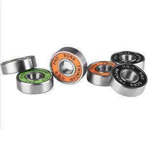 10x-Stainless-Steel-Bearings-Performance-Roller-Skate-Scooter-Skateboard-WheelZB