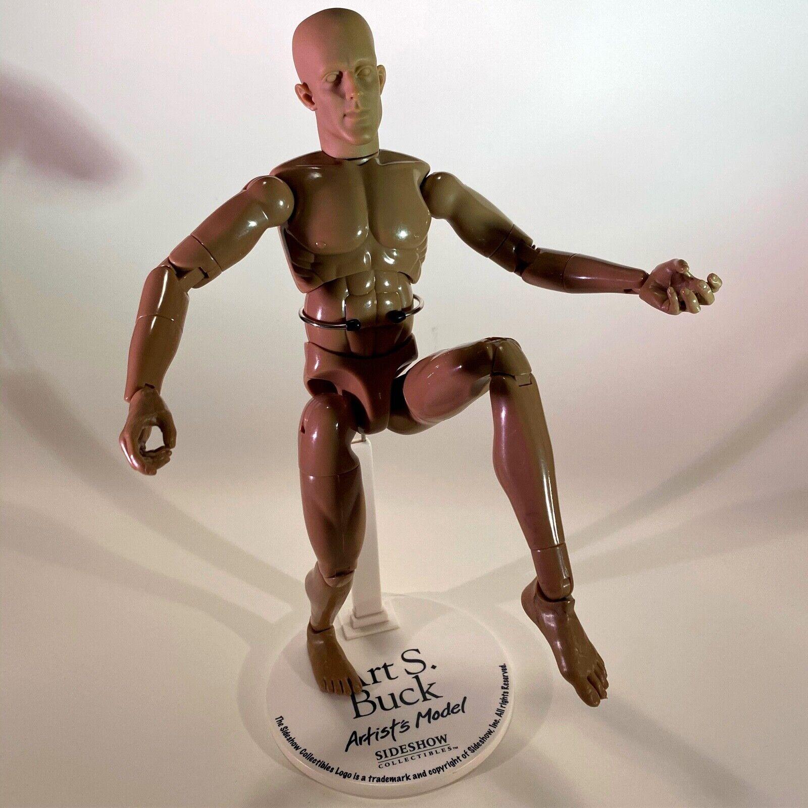 "Sideshow Art S Buck 1/6 Scale Male Nude Artist Model 12"" Action Figure on eBay thumbnail"