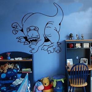 Autocollant Mural Enfants Dinosaures Art Chambre Enfants Garçons Filles Décoration Fun Ki51-afficher Le Titre D'origine Peut êTre à Plusieurs Reprises Replié.
