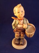 M. J. HUMMEL GOEBEL VILLAGE BOY WITH BASKET No. 5 1/0 WEST GERMANY