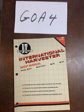Iampt International Harvester Tractor Service Manual 234 244 Amp 254 Ih 55 Nos