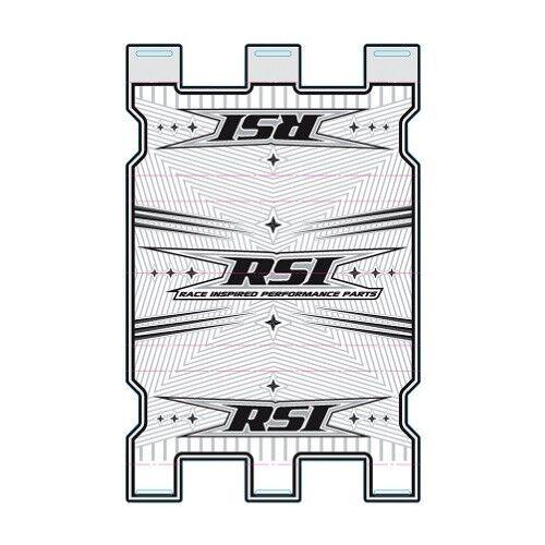 RSI Racing Handlebar Pad BPS-WHITE