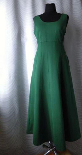Boden Green Jersey Knit Long Dress Size UK 14 Slee