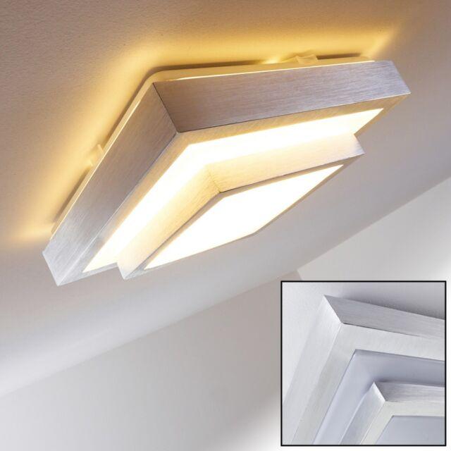 LED Decken Lampe Flur Küchen Büro Wohn Zimmer Design Bad IP 44 Leuchte 12 Watt