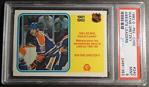 1982-O-PEE-CHEE-240-WAYNE-GRETZKY-ASSIST-LEADERS-OILERS-HOF-PSA-9
