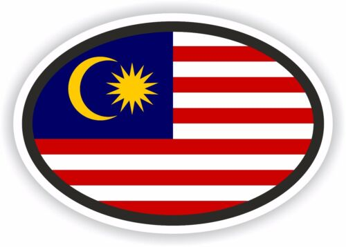 Nationalitätenkennzeichen Malaysia Aufkleber Autoaufkleber Motorrad Auto