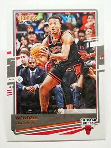 Panini Donruss 2020-21 N8 NBA trading card #183 Wendell Carter Jr. Chicago Bulls