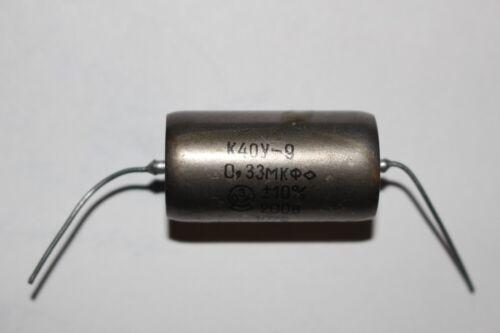 DIFFERENT TYPES//PIO TESTED CAPACITOR K40U-9 AUDIO CAPACITORS PAPER OIL NOS