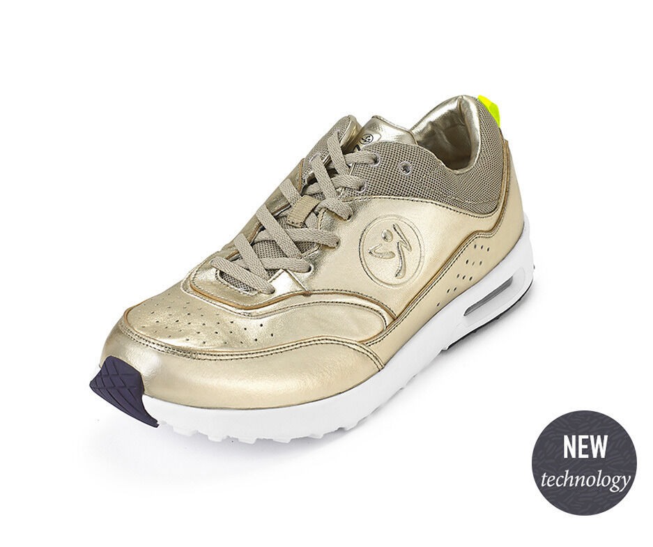 Zumba Air Classic Shoes - Gold Metallic A1F00059