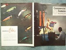 1950 COMMERCIAL CAMERA MAGAZINE  VOL 3 NO 2  EASTMAN KODAK COMPANY  ROCHESTER NE