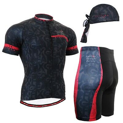 FIXGEAR CS-g602 SET Cycling Jersey & Shorts Padded, MTB Bike, BMX, Beanie GIFT