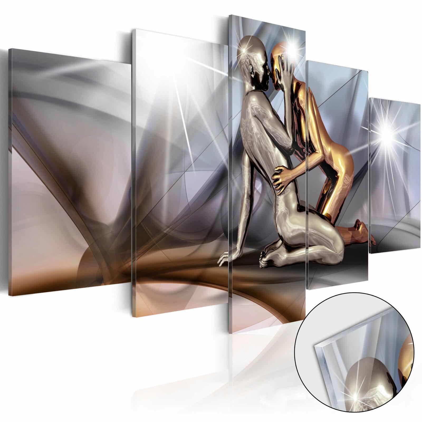 Acrylglasbild Modern Wandbild Glasbilder Bild Liebe Erotik Abstrakt h-A-0019-k-m