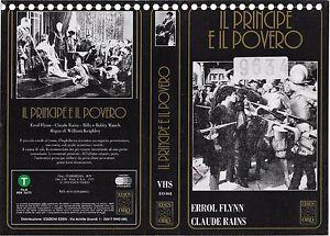 IL-PRINCIPE-E-IL-POVERO-1937-vhs-ex-noleggio