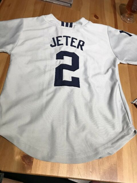 Adidas New York Yankees Boys Jersey Small (8) Jeter