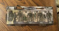 Elite Force Marine Recon 5 Action Figures With Figure Toy Soldiers