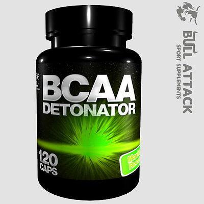 120 Tabletten  BCAA DETONATOR - Aminosäuren Leucin Isoleucin Valin Muskelaufbau