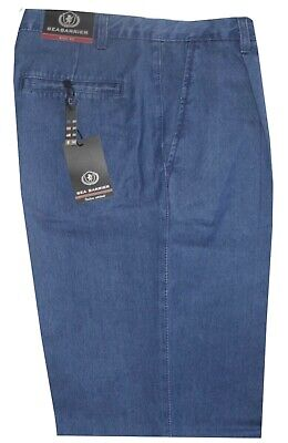 Premuroso Jeans Uomo Classico 46 48 50 52 54 56 58 60 62 Pence Tela Leggera Morbida Oregon