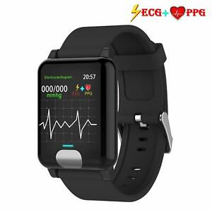 ISWIM-Pulsera-de-Actividad-Inteligente-ECG-amp-PPG-Pantalla-a-Color-Impermeable-IP67