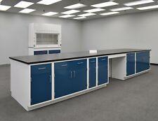 16 X 4 Laboratory Island Cabinets Bench Area Amp Countertops E1 799