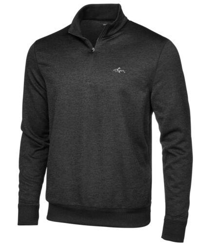 grey Small Greg Norman Mens RapiWarm Pullover Sweater
