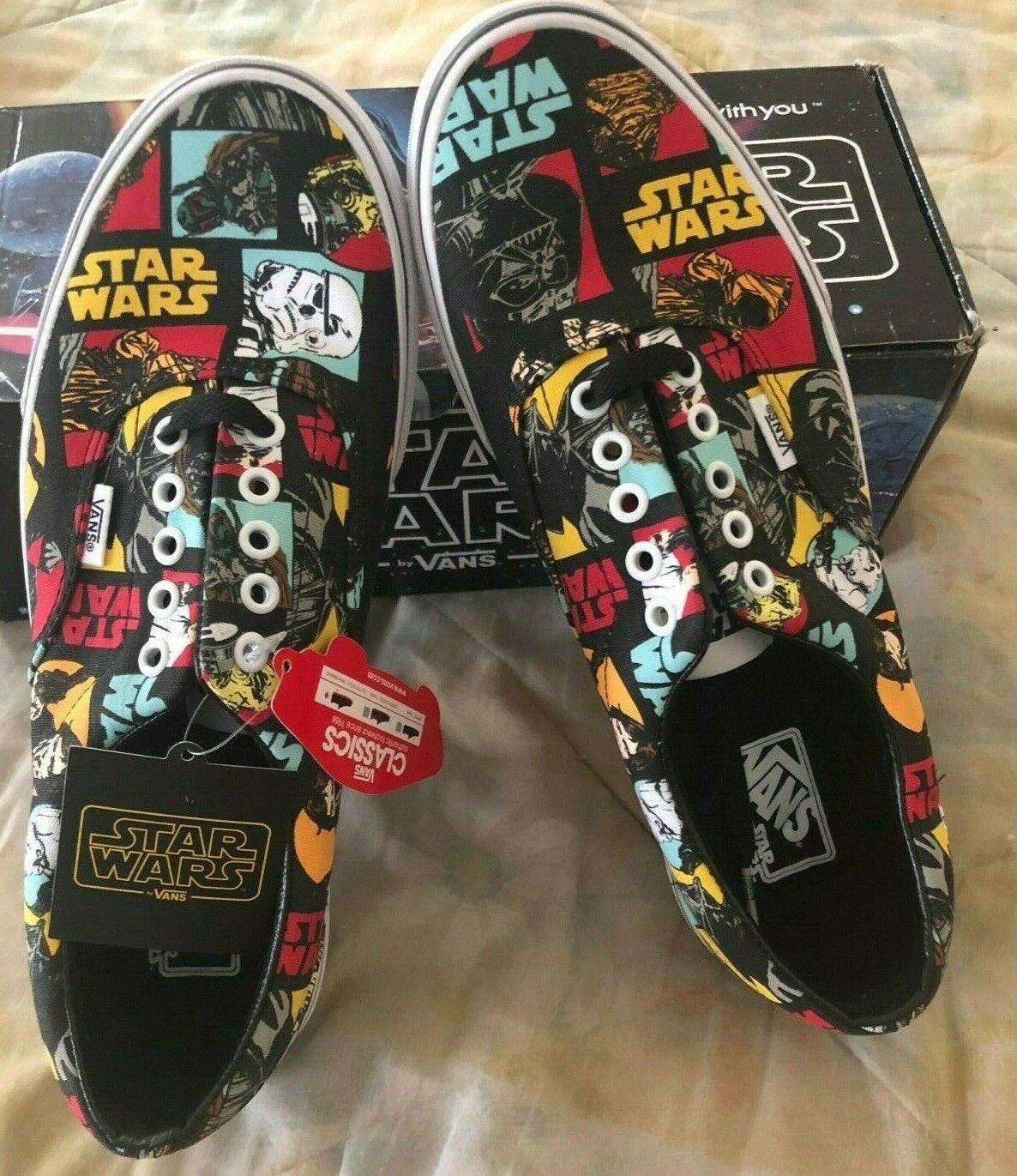 Vans Star Wars Era Classic Repeat 4-11 Boba Fett Neu Hope Yoda Syndicate Sz 9.5