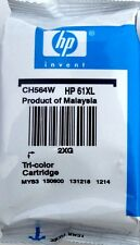 HP 61XL TRI-COLOR INK CARTRIDGE CH564WN GENUINE NEW
