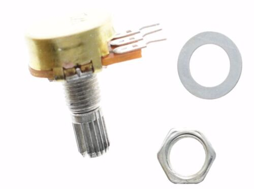 WH148  3pin Linear Potentiometer from B1K to B1M 15mm Shaft with nuts /& washers