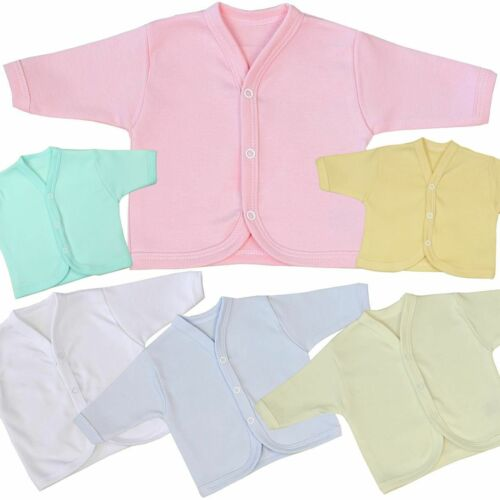 Baby Clothes Clothing Boys Blue Pink Premature Tiny Small Cotton Cardigan Cardy