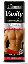 BIELENDA VANITY HAIR REMOVAL CREAM FOR ALL BODY FOR MEN FAST ACTION 10 minutes !