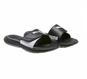 PUMA Ladies' Surfcat Ladies' PUMA Slide Sandal, Black, 8 99e532