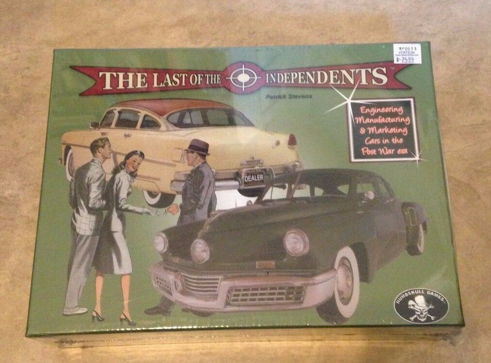 Last of the Independents Board Game NEW factory sealed