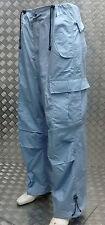 """Jungle Combat/Cargo Baggy Pantaloni 6 Tasche Blu Chiaro Taglia 37"""" - NUOVO"""