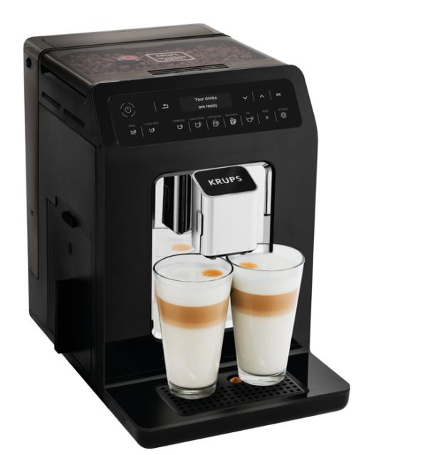 Krups Ea8908 Evidence Automatic Coffee Machine Cuccino 15 Bar